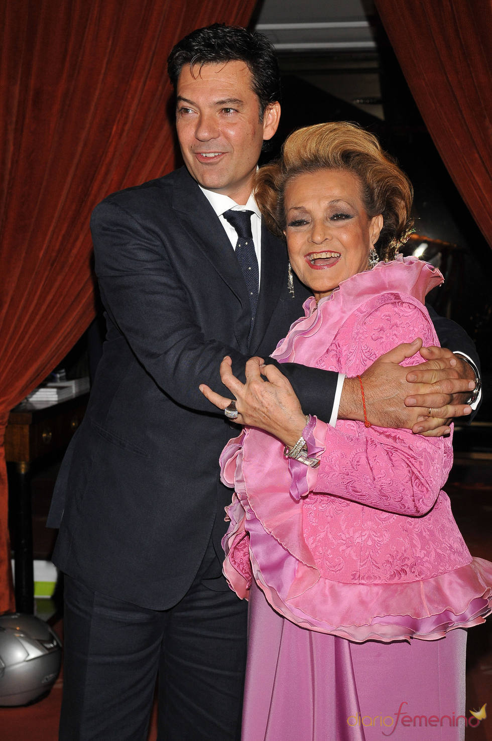Carmen Sevilla y Auguso Algueró Junior