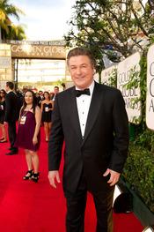 Alec Baldwin en la 68 edición de los Globos de Oro 2011