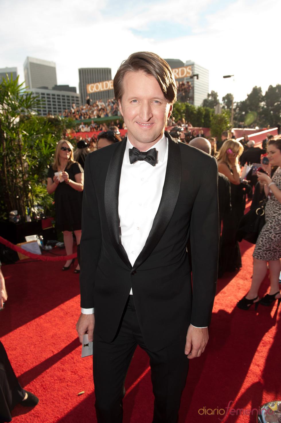 Tom Hooper, director de 'El discurso del rey' en los Globos de Oro 2011