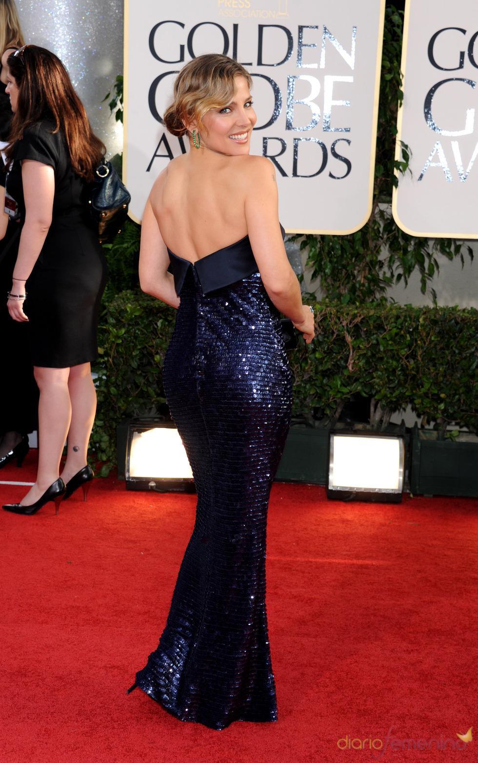 Elsa Pataky, deslumbrante en los Globos de Oro 2011