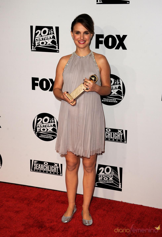 Natalie Portman en la fiesta posterior a los Globos de 2011