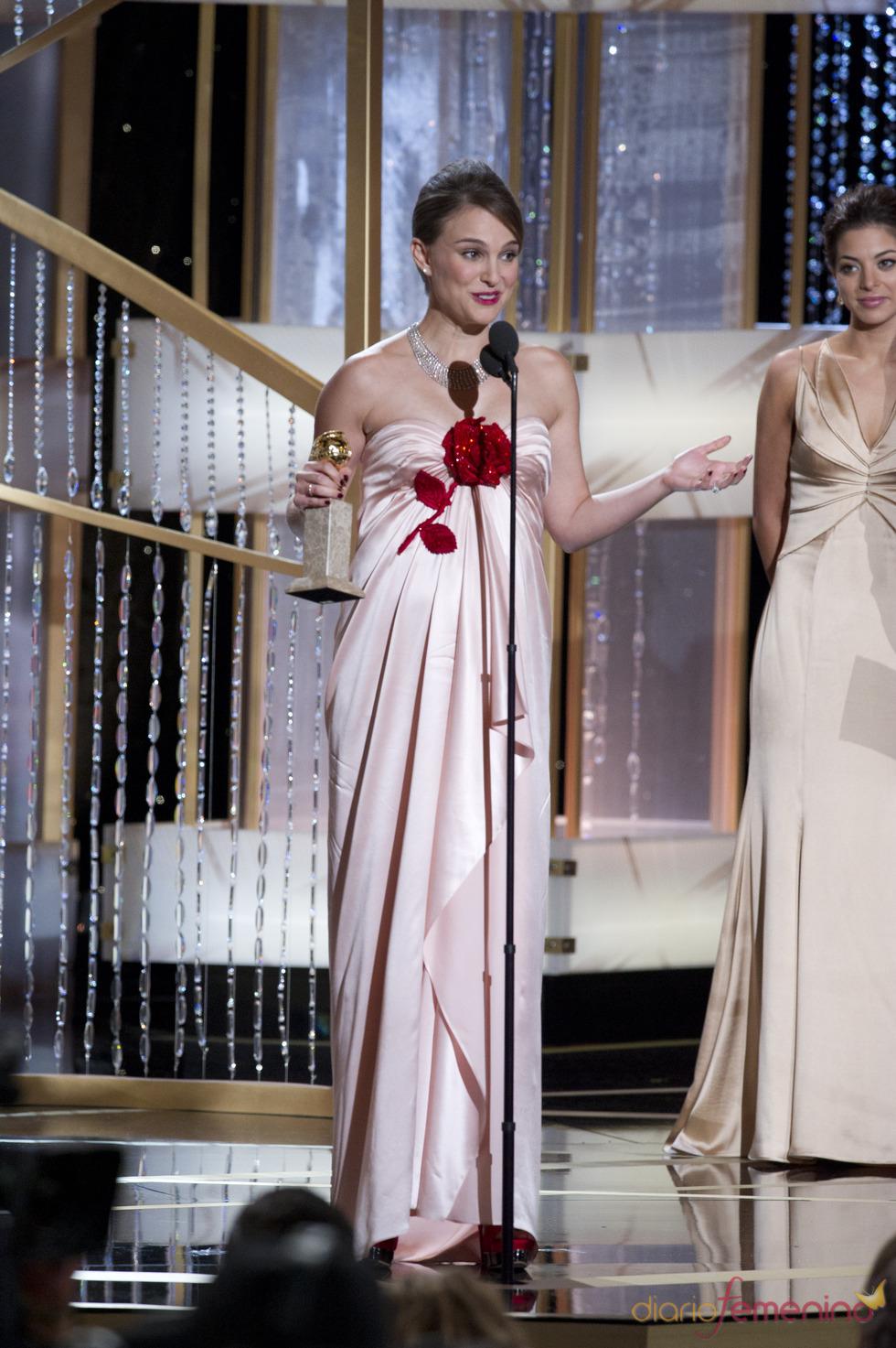 Natalie Portman, triunfadora en los Globos de Oro 2011