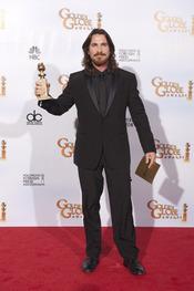 Christian Bale ganador en los Globos de Oro 2011