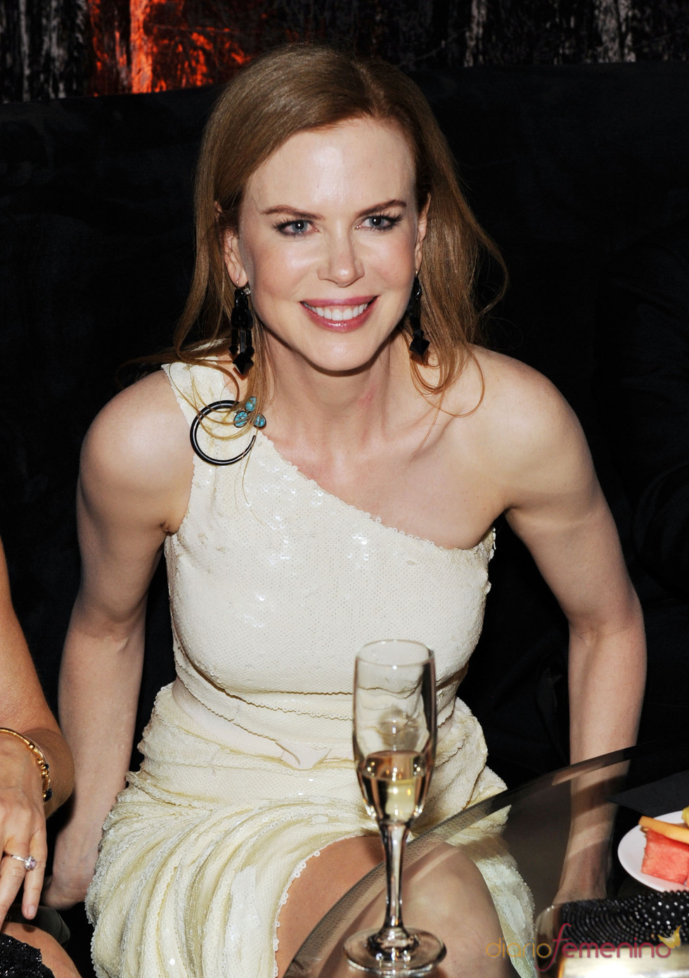 Nicole Kidman en la fiesta posterior a los Globos de Oro 2011
