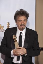 Al Pacino premiado en los Globos de Oro 2011