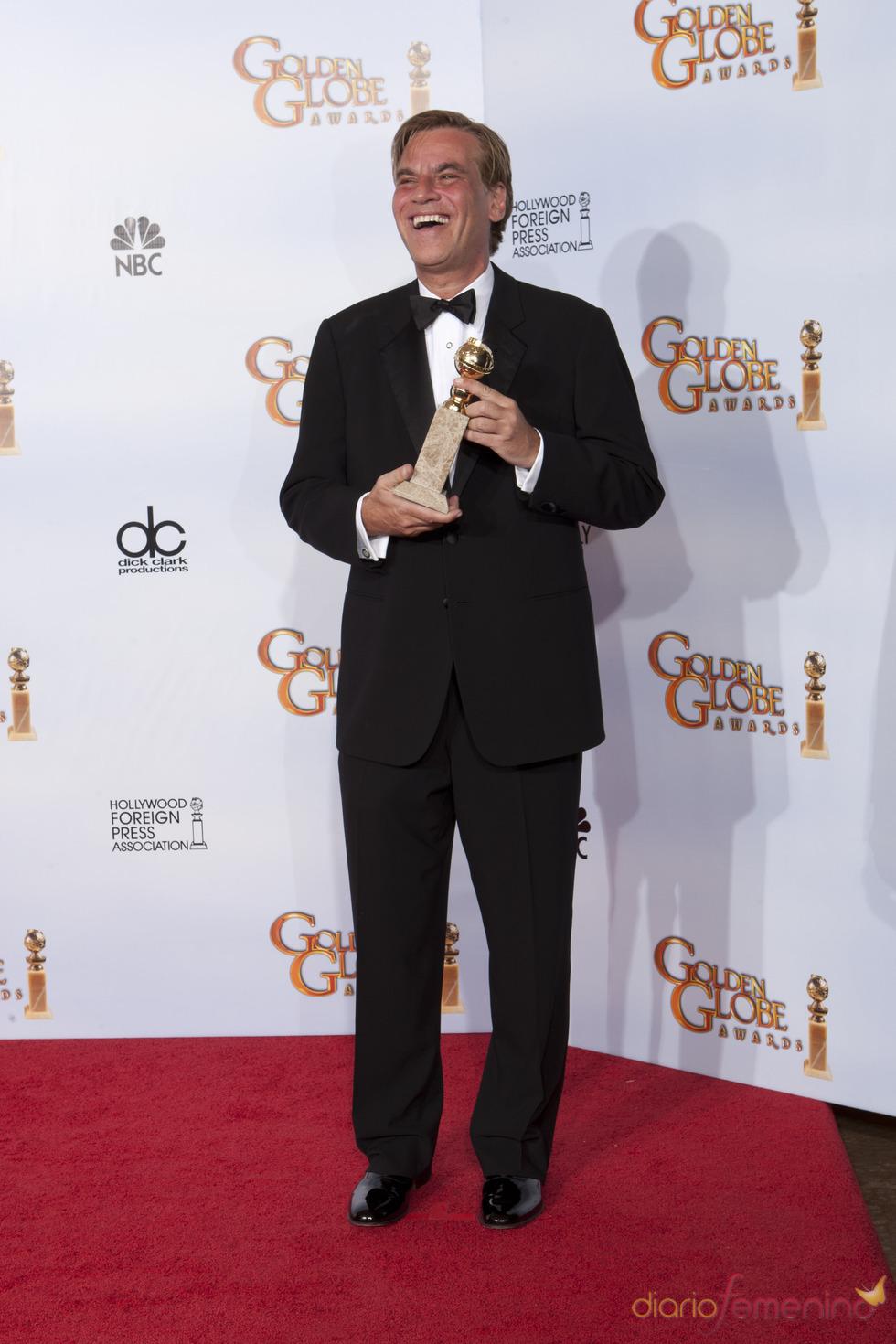 Aaron Sorkin premiado al mejor guión por 'La red Social' en los Globos de Oro 2011