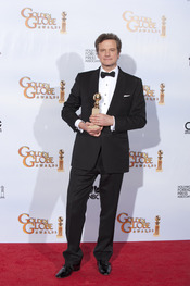 Colin Firth, ganador en los Globos de oro 2011
