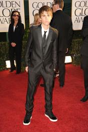 Justin Bieber en los Globos de Oro 2011