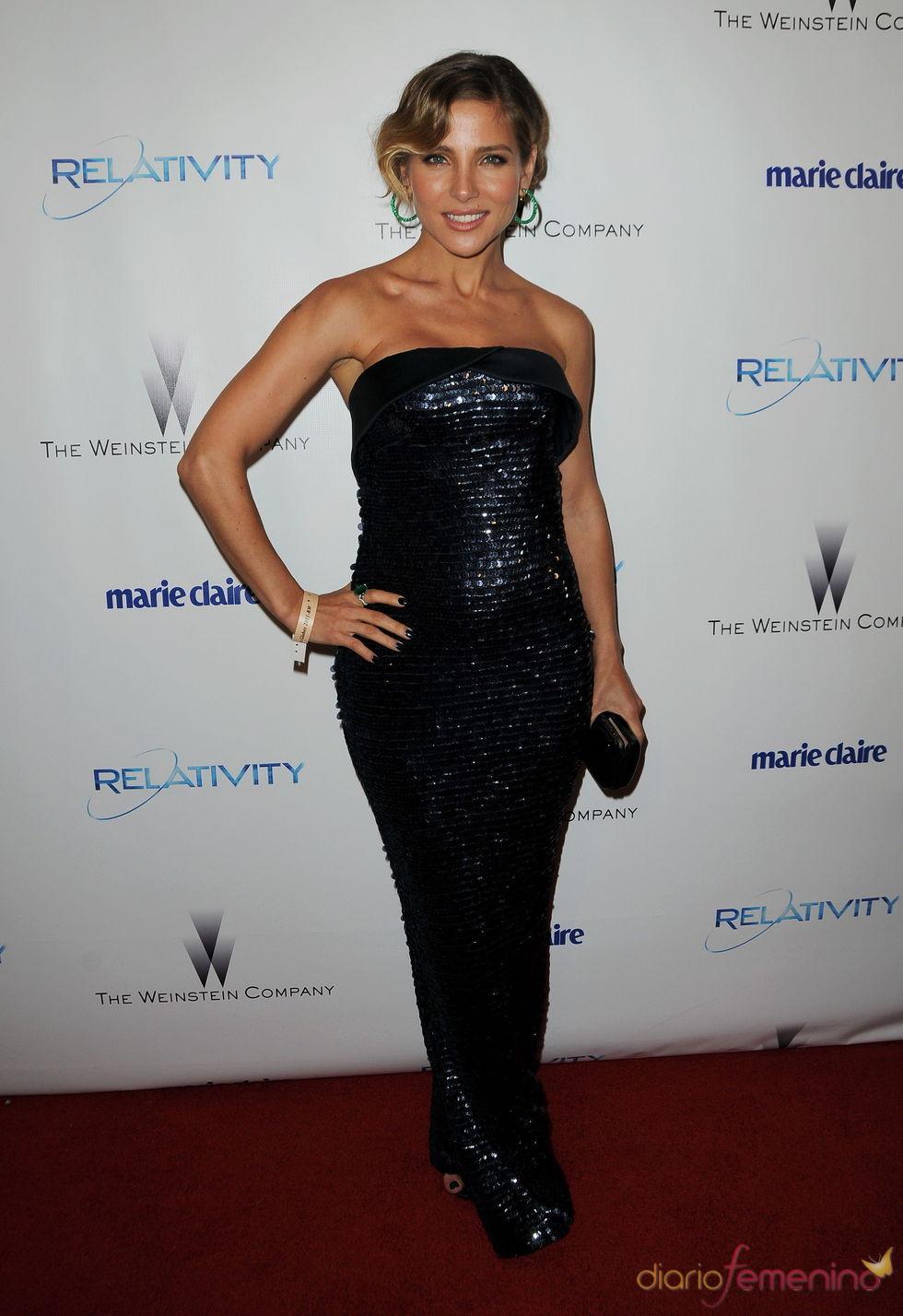 Elsa Pataky en una fiesta posterior a los Globos de Oro 2011
