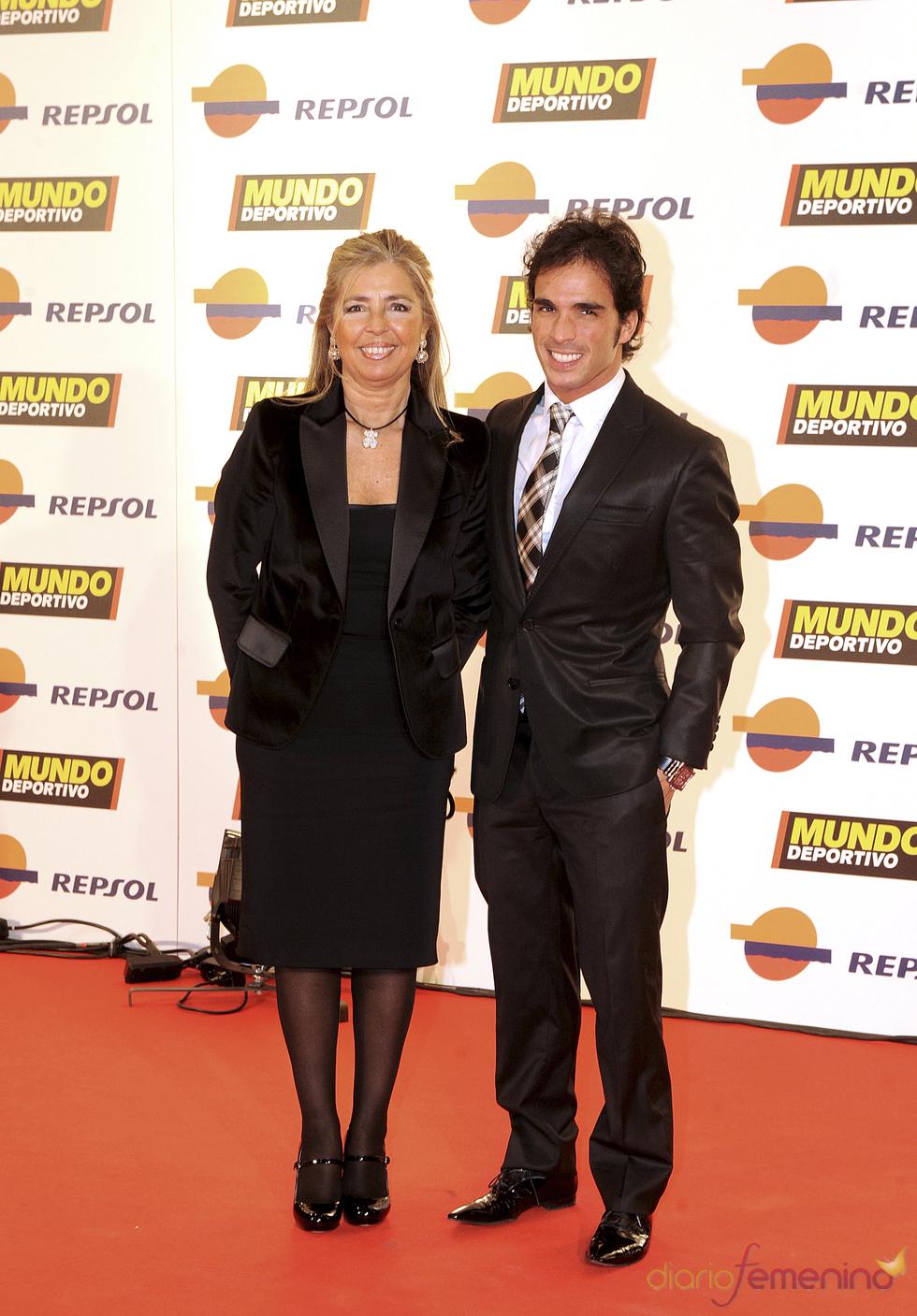 Toni Elías en la gala 'Mundo Deportivo' 2011