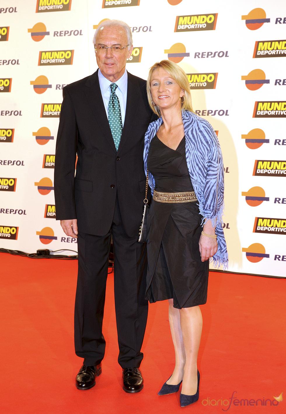 Franz Beckenbauer en la gala 'Mundo Deportivo' 2011