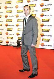 Andrés Iniesta en la gala 'Mundo Deportivo' 2011