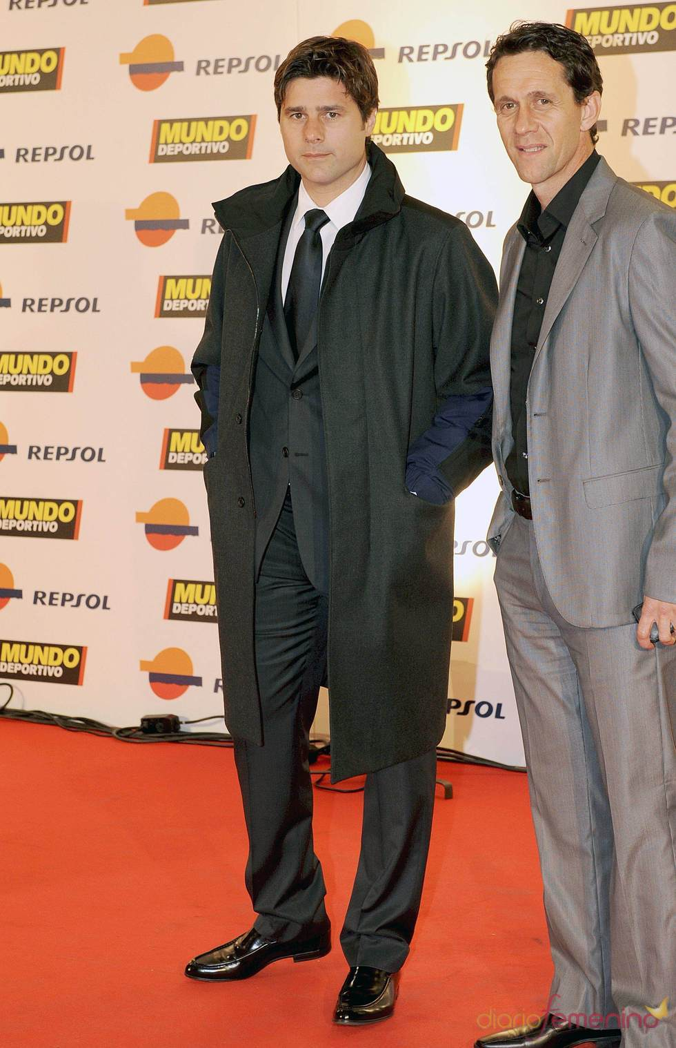 Mauricio Pochettino en la gala 'Mundo Deportivo' 2011