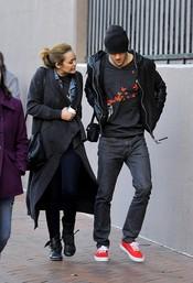 Miley Cyrus pasea con el ex de Amy Winehouse