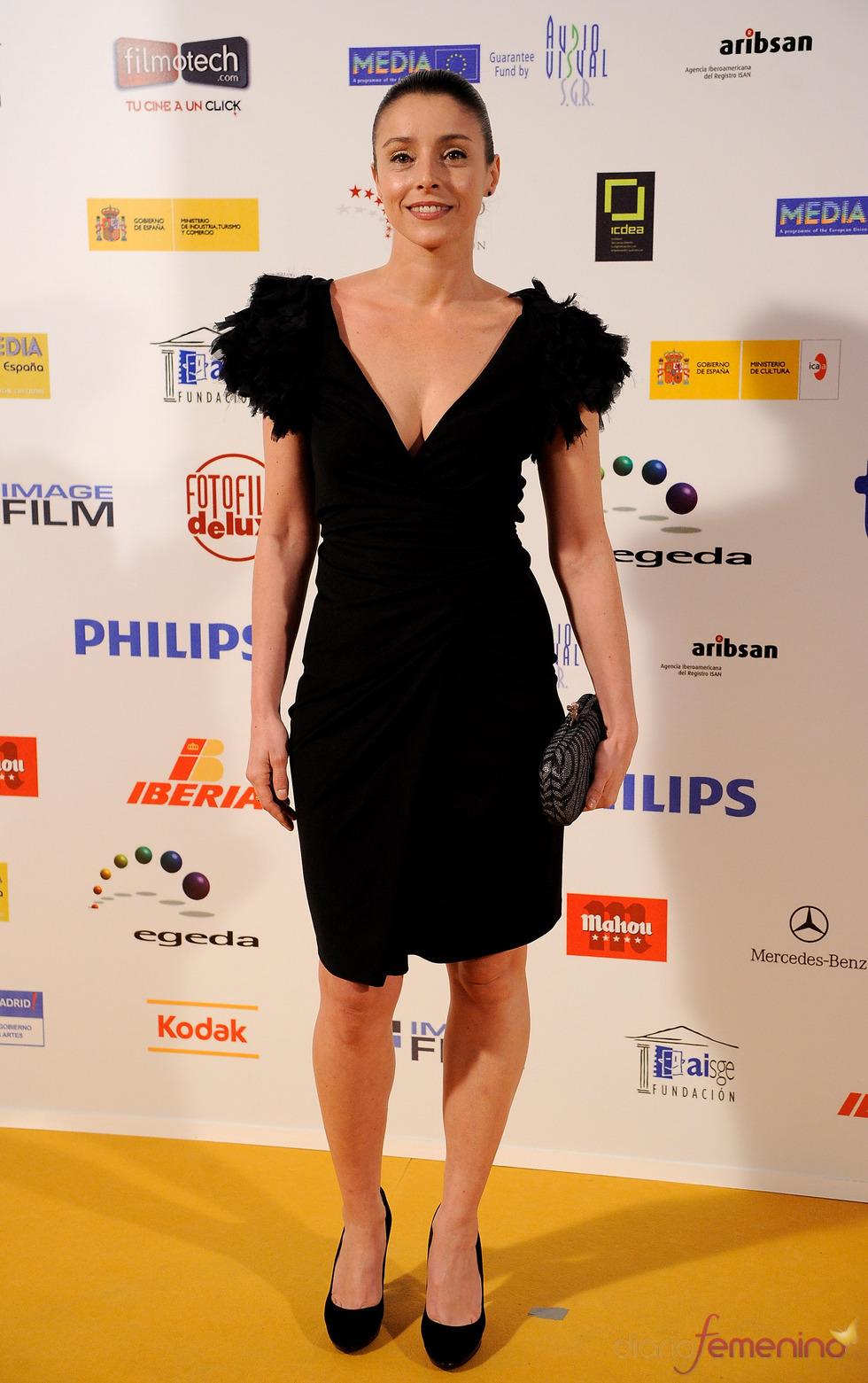 Ingrid Rubio en los Premios Jose María Forqué 2011