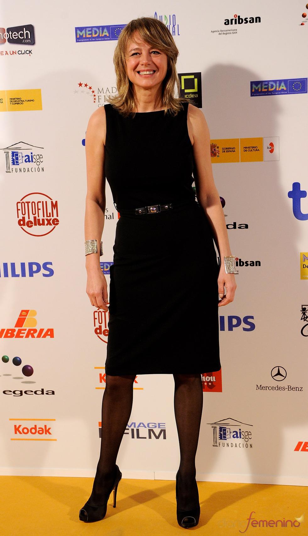 Emma Suárez, radiante en los Premios Jose María Forqué 2011