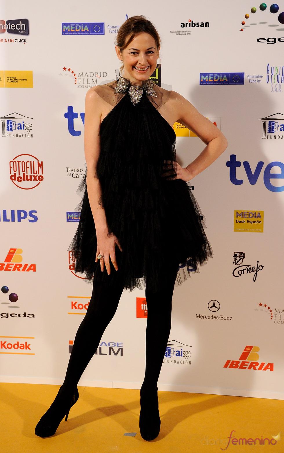 Premios Jose María Forqué 2011 con Cuca Escribano