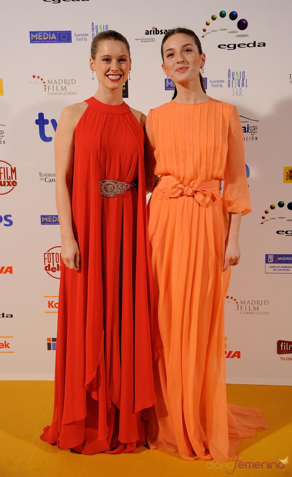 María Valverde y Manuela Velles en los Premios Jose María Forqué 2011
