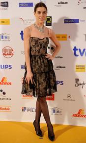 Raquel Sánchez Silva en los Premios Jose María Forqué 2011