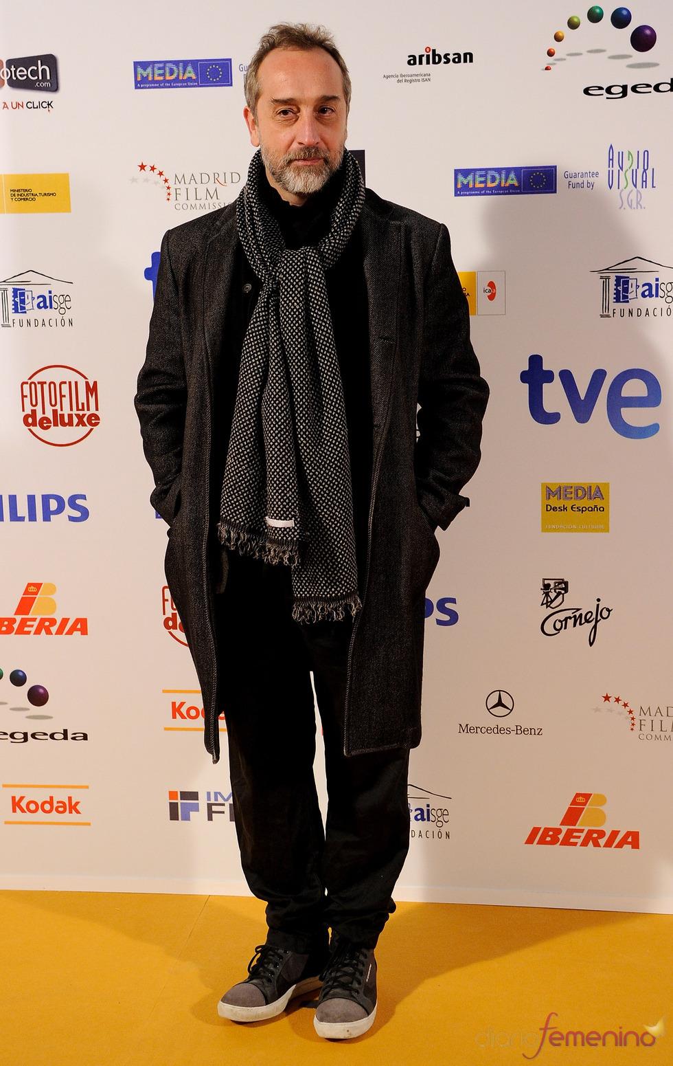 Gonzalo de Castro en los Premios Jose María Forqué 2011