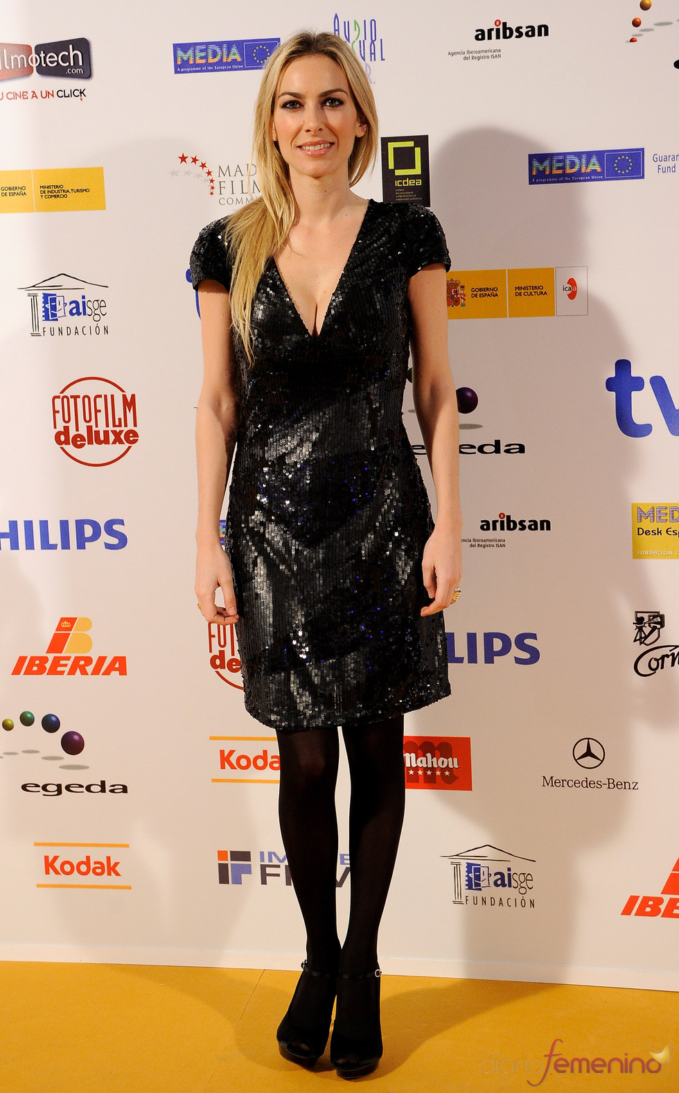 Premios Jose María Forqué 2011 con Kira Miró