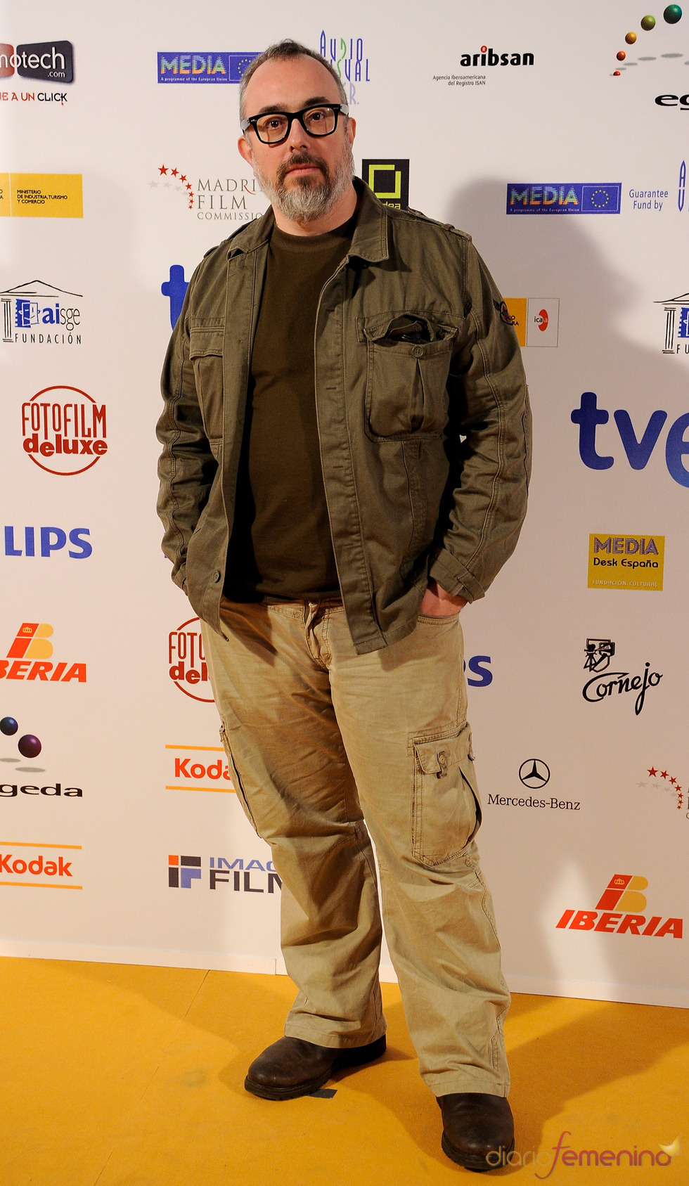 Álex de la Iglesia en los Premios Jose María Forqué 2011