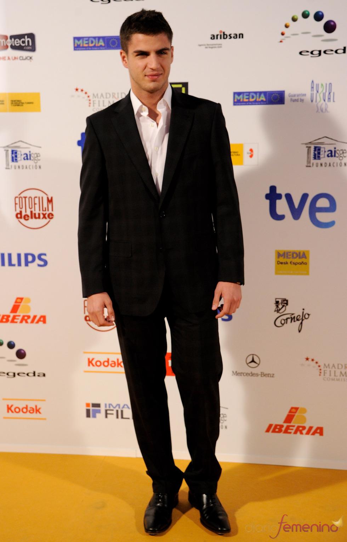 Maxi Iglesias en los Premios Jose María Forqué 2011