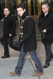 Nick Jonas marca tendencia en Nueva York