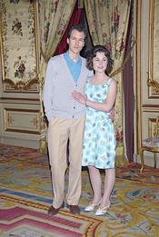 Jorge Suquet y Nadia de Santiago en 'Sofía'