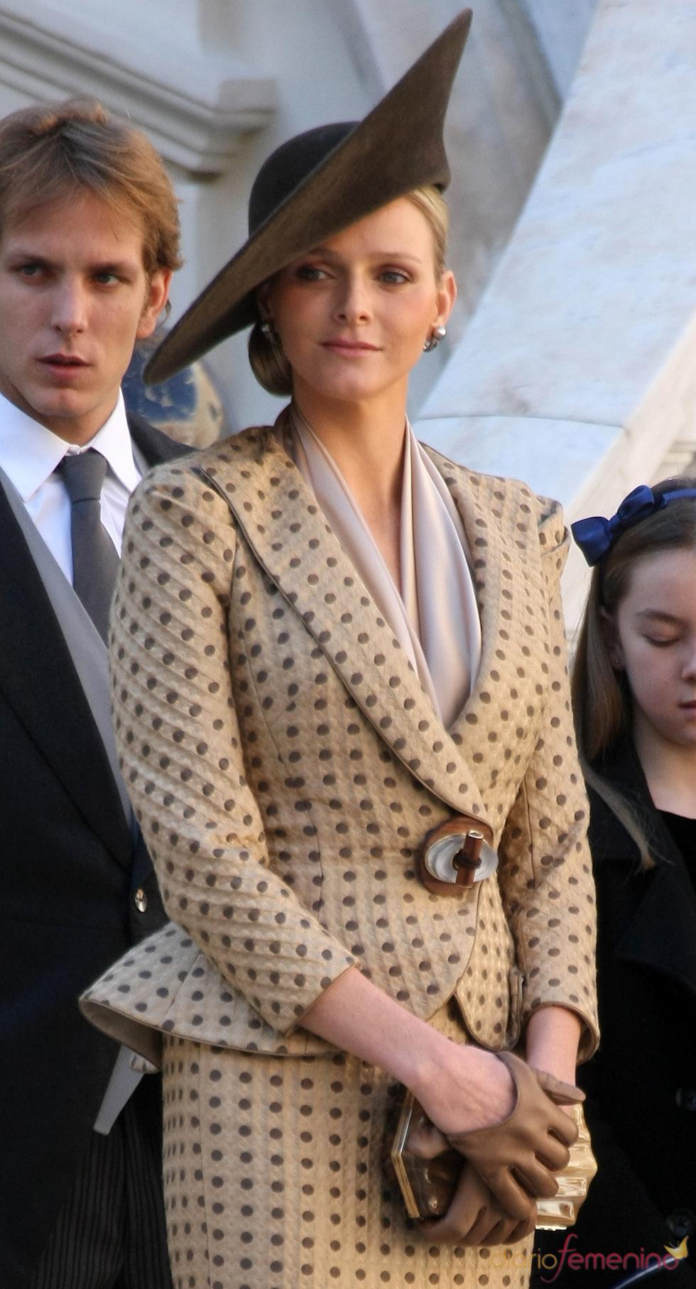 Armani diseñará el vestido de novia de Charlene Wittstock