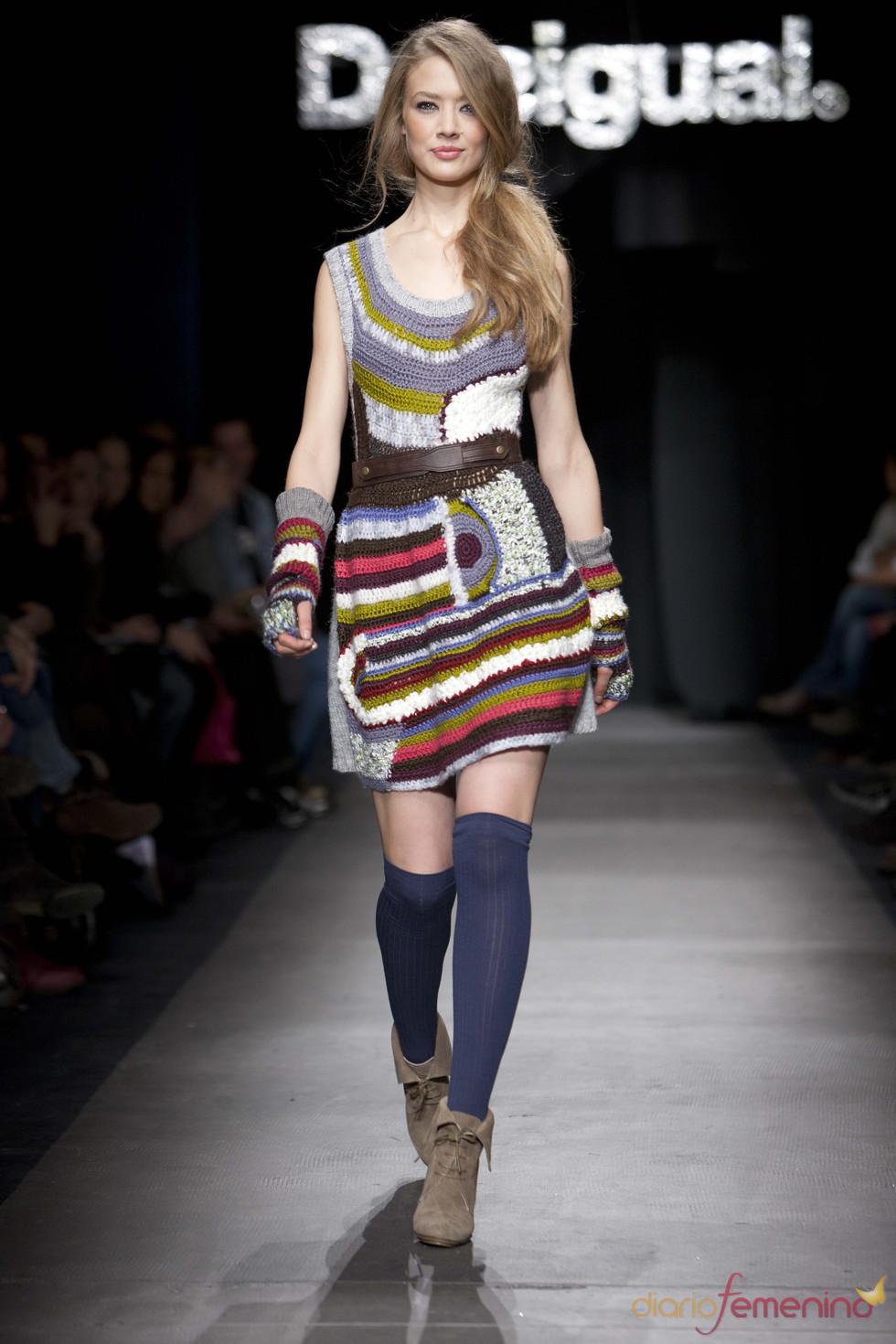 Vestido estilo folk de la colección Dream de Desigual