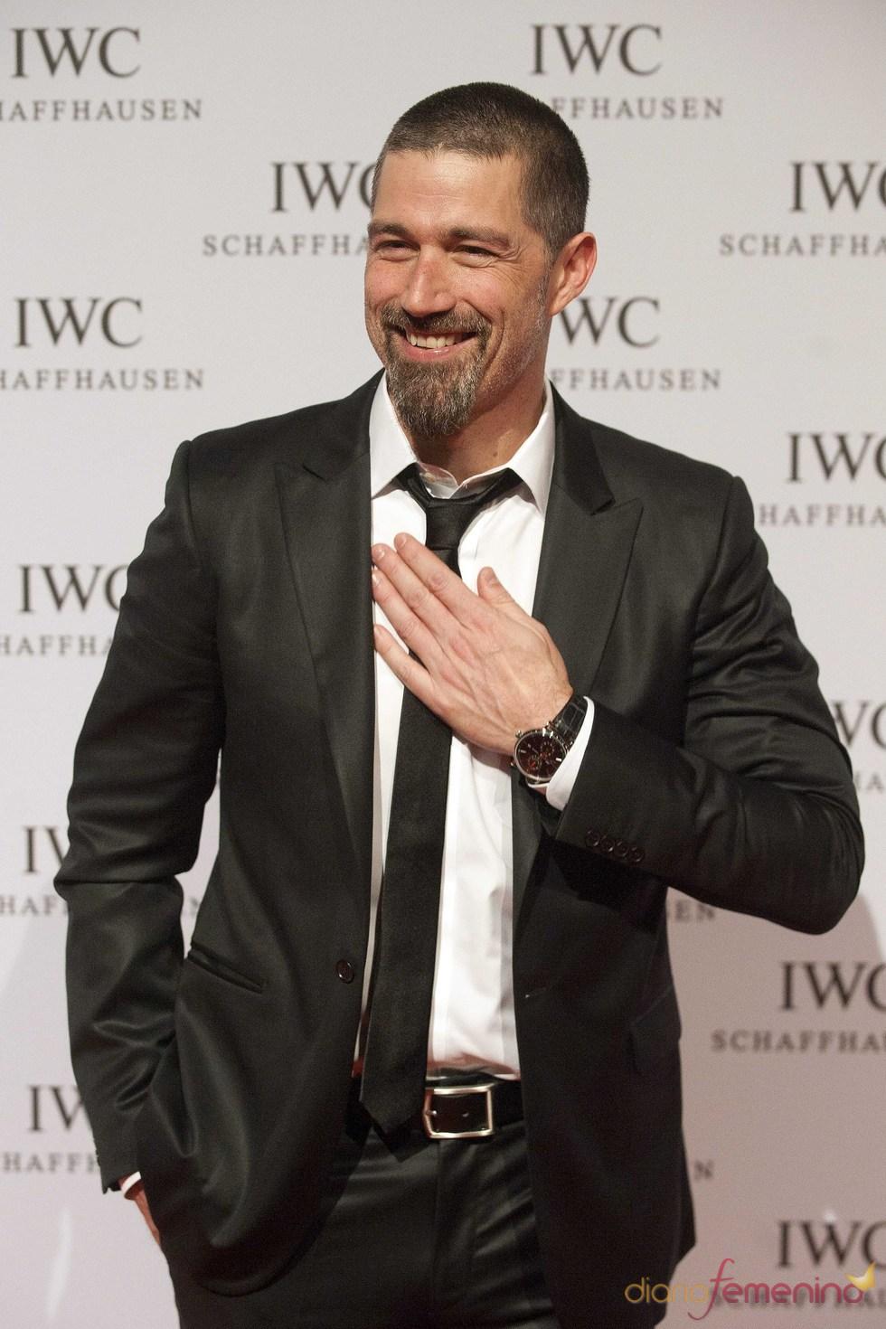 Matthew Fox en el Salón Internacional de la Alta Relojería