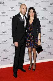 Zinedine Zidane y su mujer Veronique en el Salón Internacional de la Alta Relojería