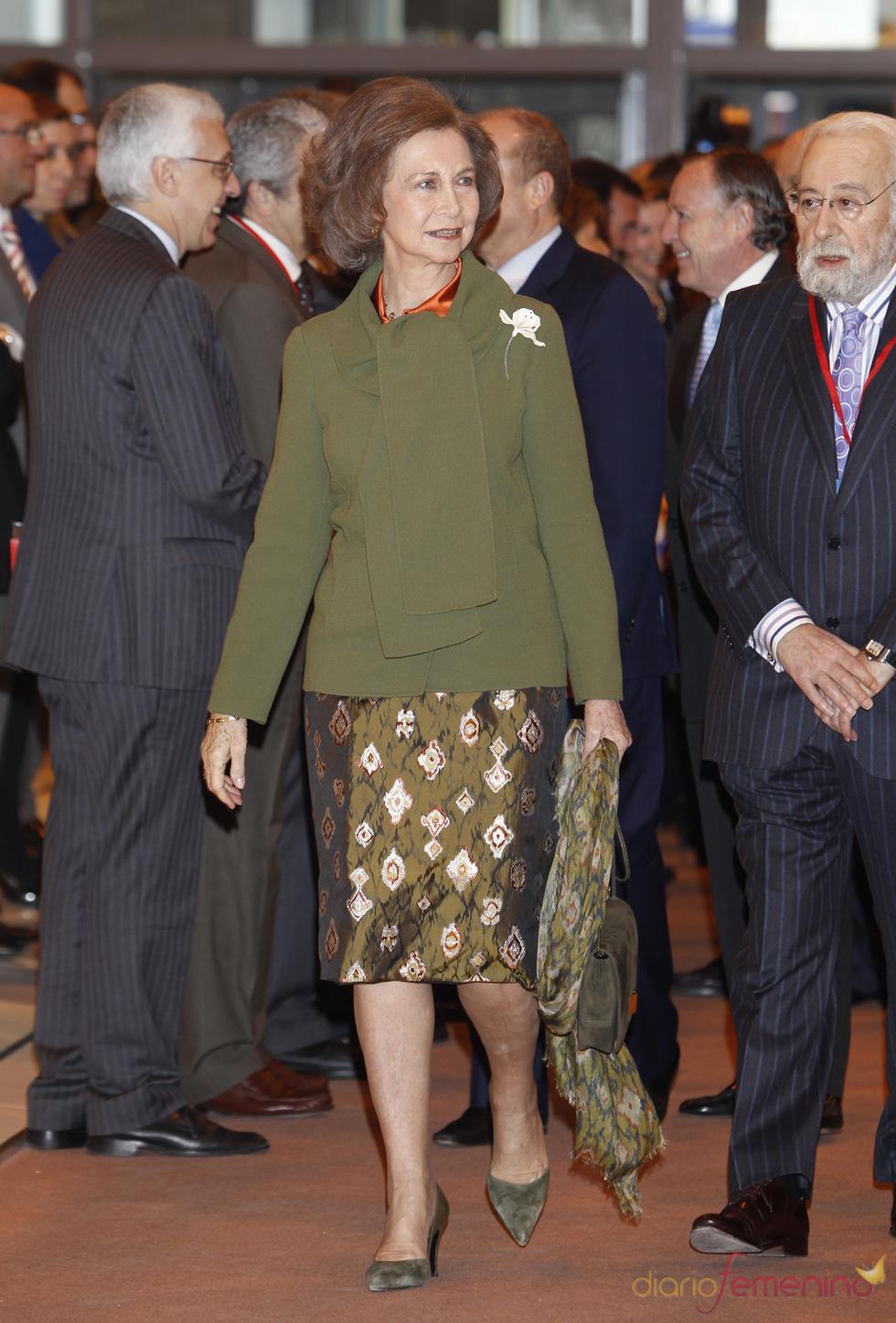 La Reina Sofía llega a FITUR