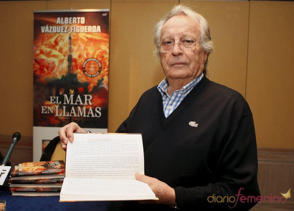 Alberto Sánchez-Figueroa presenta su nuevo invento