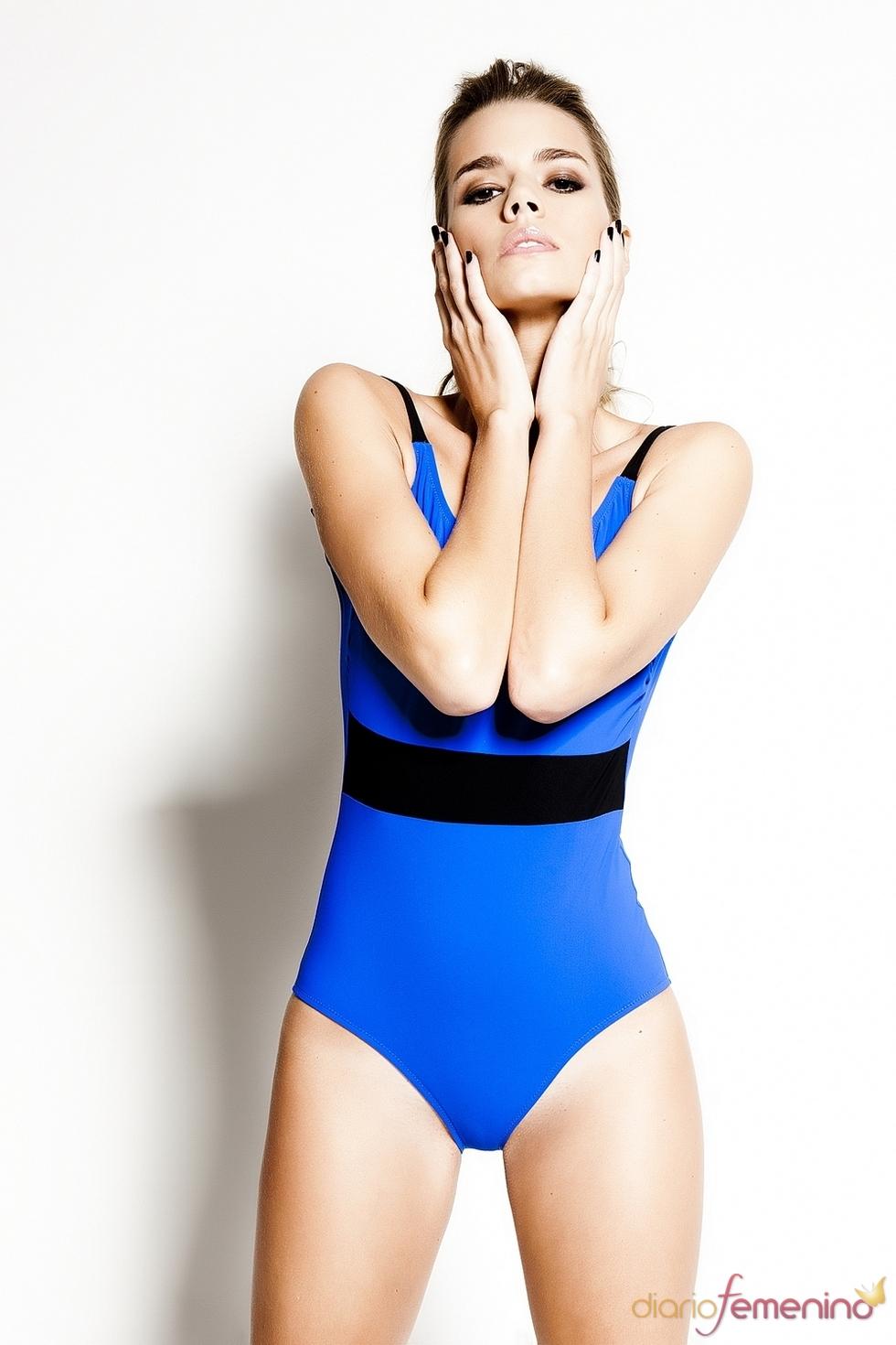 Bañador abstracto bicolor de R&S Fashion