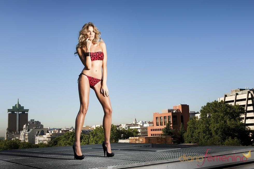 Bikini print animal en rojo de R&S Fashion