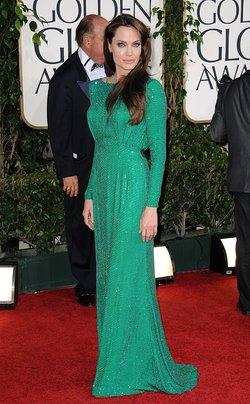 Angelina Jolie simplemente radiante