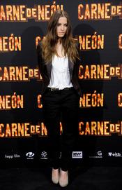 Ana Fernández en la presentación de 'Carne de Neón'