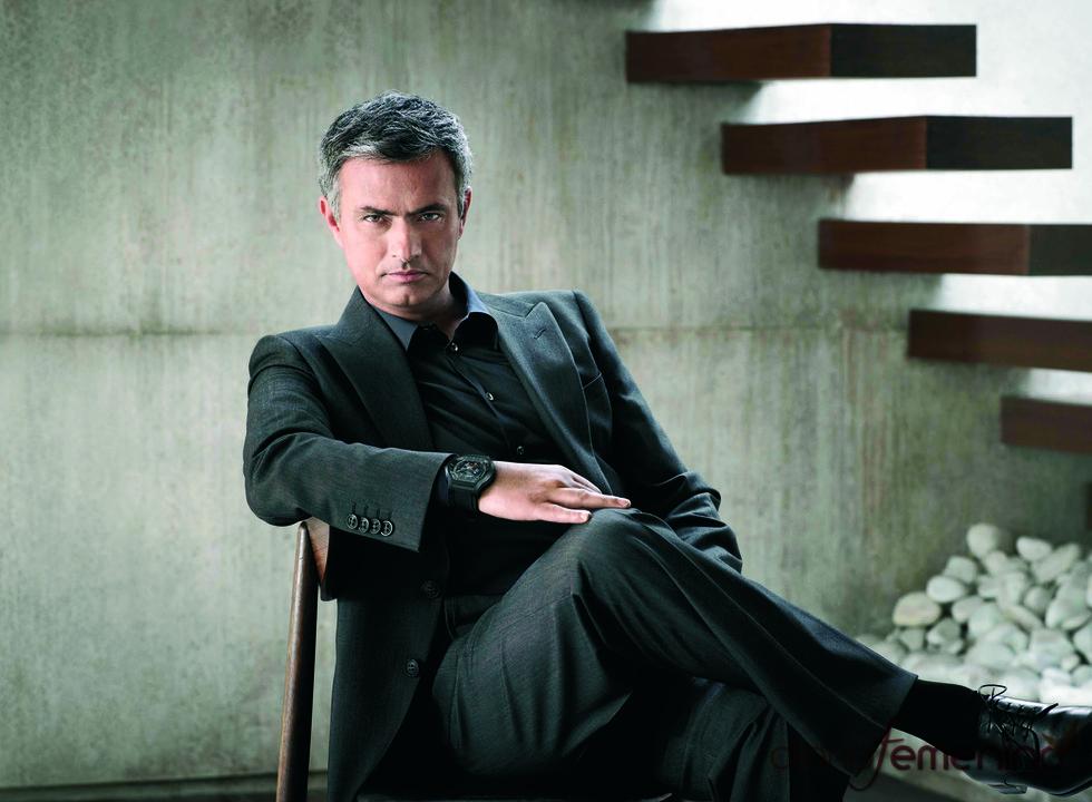 José Mourinho es la imagen de una marca de relojes