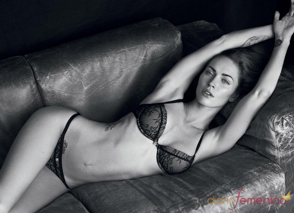 Megan Fox, muy sensual en ropa interior para Armani
