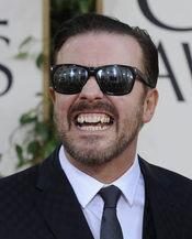 Ricky Gervais no se arrepiente de sus bromas en los Globos de Oro 2011