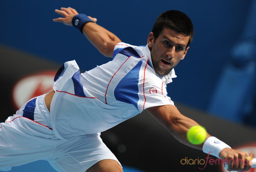 Novak Djokovic, tenista de moda