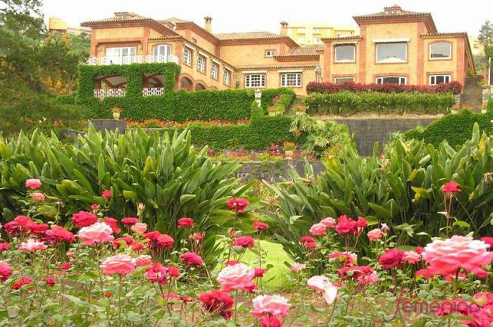 Vistas exteriores de la posible futura mansión de Fernando Alonso y Raquel del Rosario