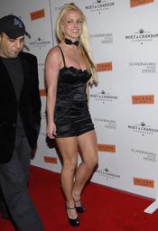 Britney Spears se equivocó de talla de vestido