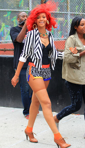 Rihanna al estilo 'redondo de ternera'