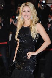 Shakira, radiante en los premios musicales NRJ