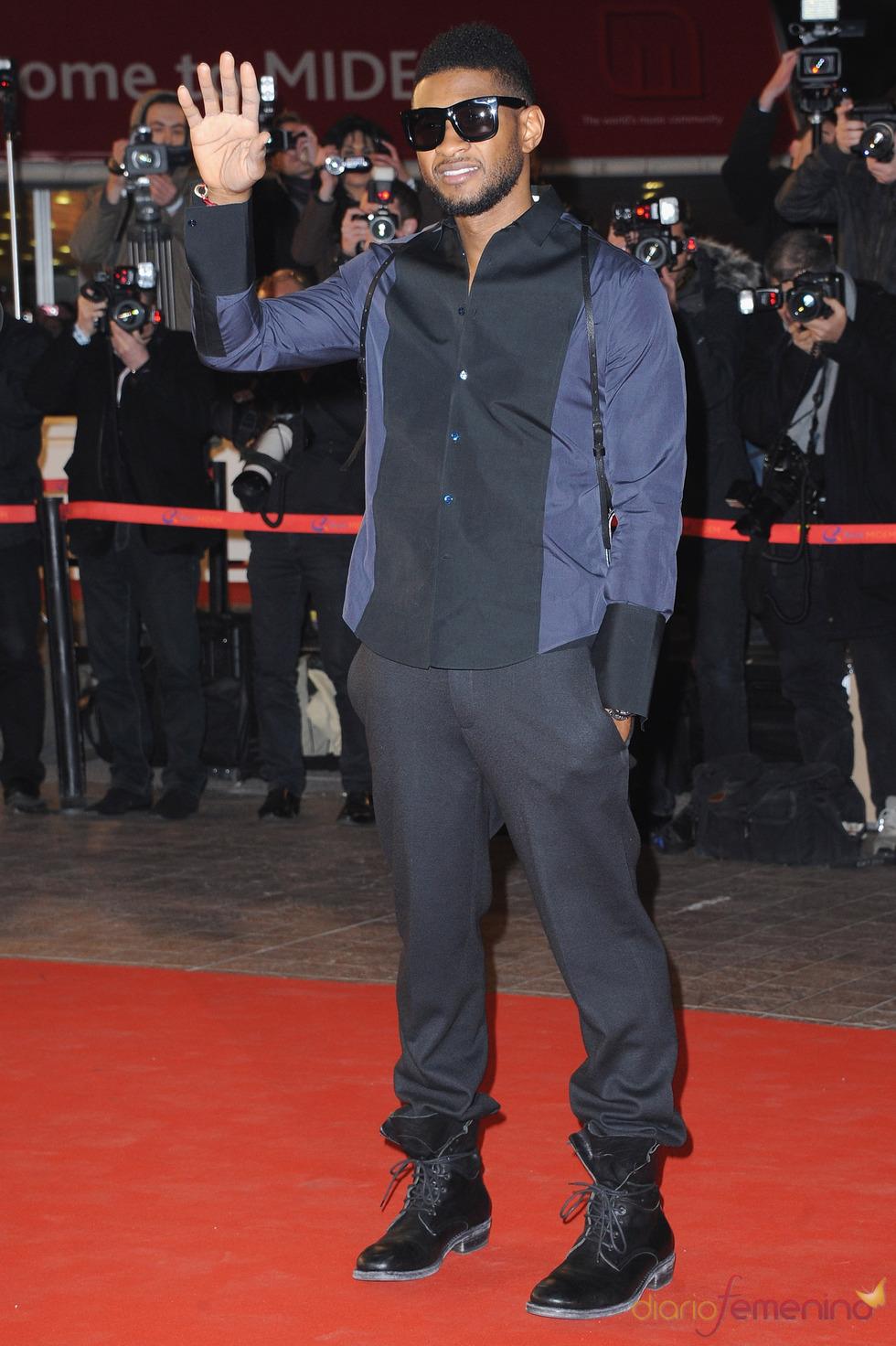 Usher en los NRJ Music Awards 2011