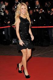 Shakira en los NRJ Music Awards 2011