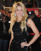 Shakira, muy feliz en los NRJ Music Awards 2011